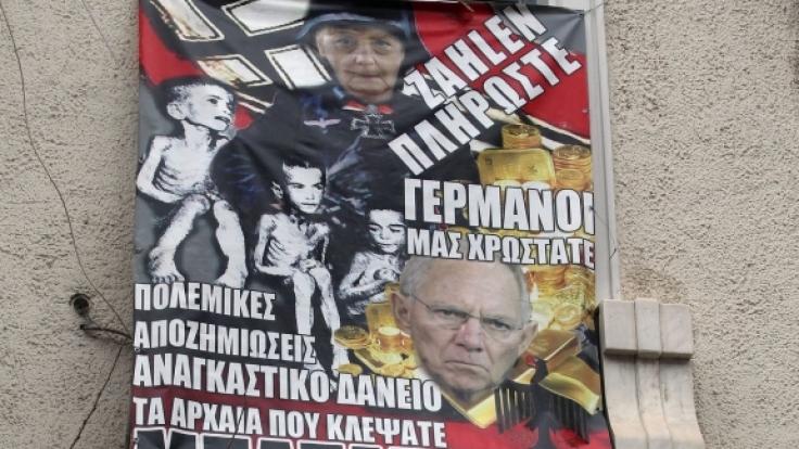 Auch Wolfgang Schäuble wurde als Nazi tituliert. (Foto)