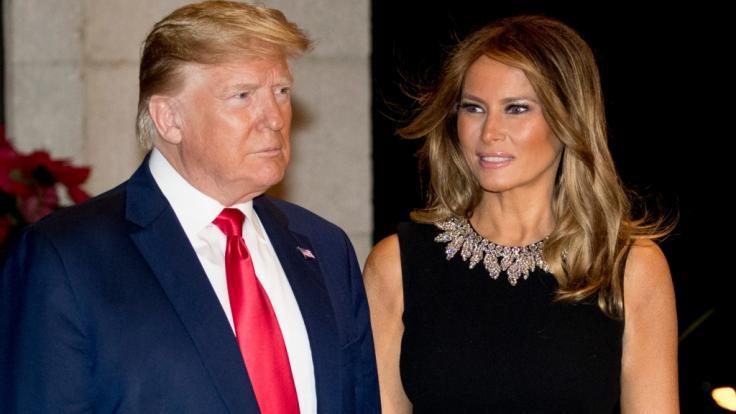 Donald Trump und Melania Trump. (Foto)