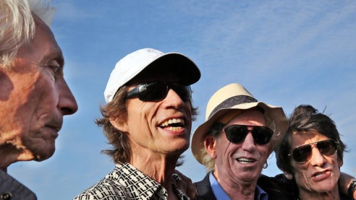 Die Rolling Stones gehen im Herbst 2017 auf Europa-Tour.
