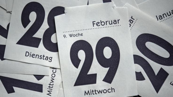 Wer braucht schon Schaltjahre?, dachten sich zwei US-Forscher und erfanden ein neues Kalendersystem - das jedoch einen kleinen Haken hat. (Foto)