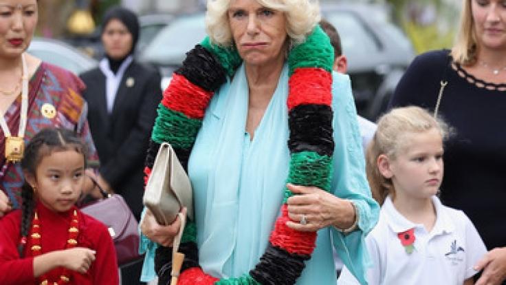 Herzogin Camilla geht die Puste aus: Wird ihr das Leben als Vollzeit-Royal zu viel? (Foto)