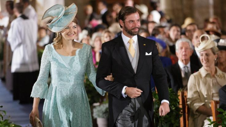 Prinzessin Stéphanie von Luxemburg ist eine der letzten Thronfolger-Gattinnen in Europa, die auch selbst aus einer Adelsfamilie stammen.