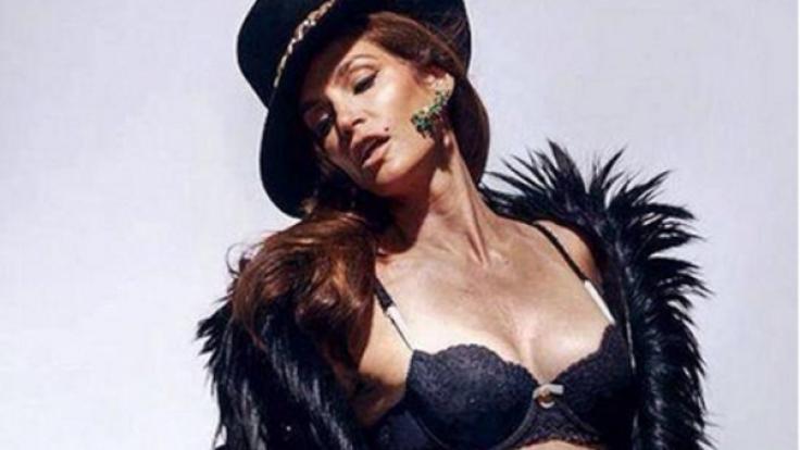 So sieht Cindy Crawford ganz ohne Photoshop aus.