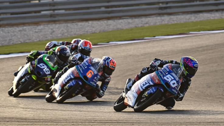 Die Motorrad-Profis sind in Portugal zu Gast. (Foto)