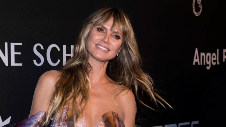 Heidi Klum zeigte sich beim Shooting von ihrer sexy Seite. (Foto)