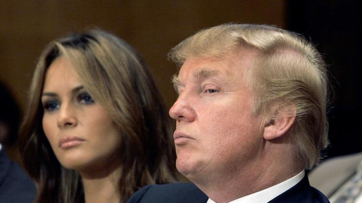 Melania Knauss und Donald Trump sind seit elf Jahren verheiratet - doch es darf bezweifelt werden. ob echte Romantik in der dritten Ehe des designierten US-Präsidenten steckt. (Foto)