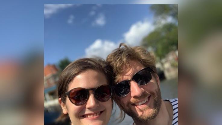 Viktoria Fuchs und Kollege Johannes Schneider sind auch privat ein Paar. (Foto)
