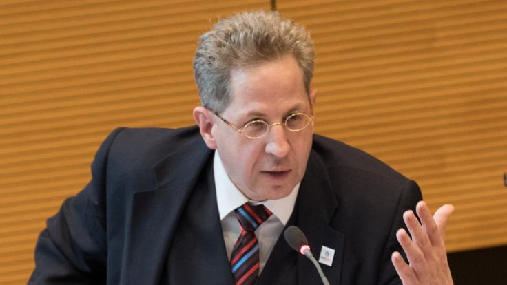Hans-Georg Maaßen: Sein Tweet beschert ihr reichlich Gegenwind. (Foto)