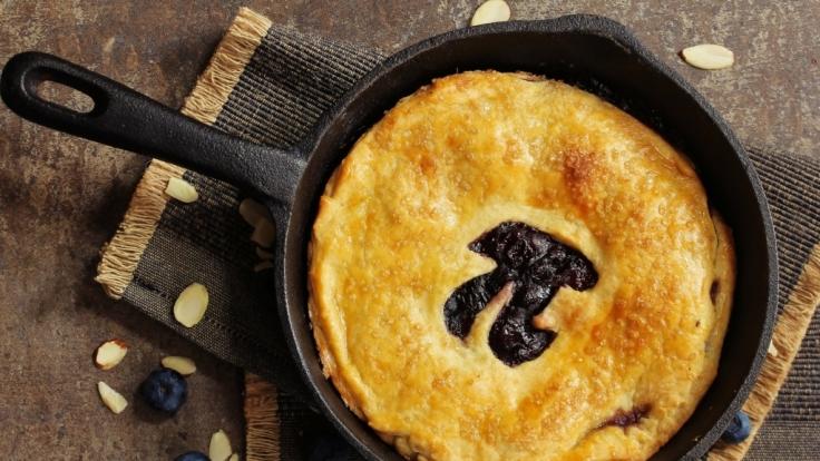 Ein Kuchen darf zum Pi-Tag nicht fehlen. (Foto)