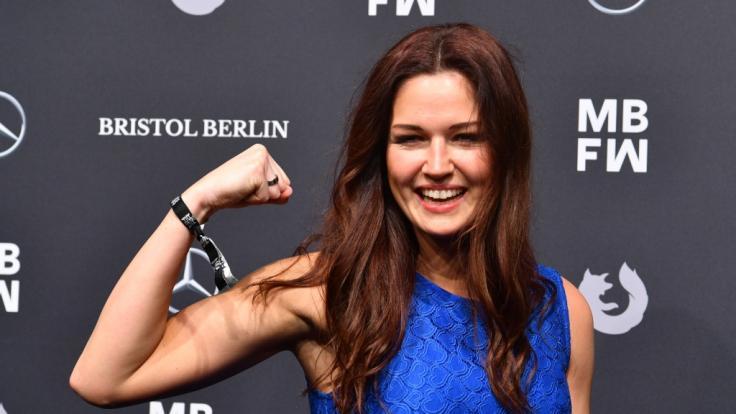 "Kickboxerin Marie Lang ist 2021 bei ""Promi Big Brother"" am Start. (Foto)"