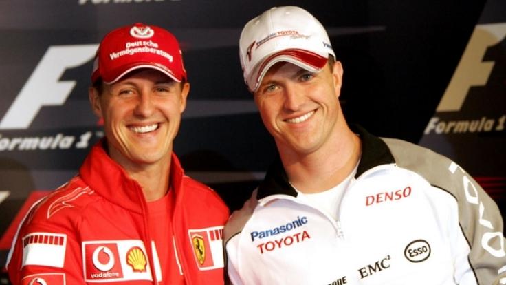 Michael und Ralf Schumacher (Foto)