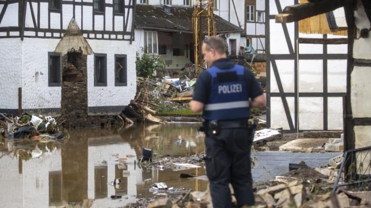 Während in NRW und Rheinland-Pfalz Menschen im Unwetter starben, sendete der WDR eine Olympia-Doku. (Foto)