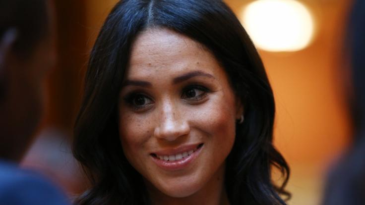 Meghan Markle hat allen Grund zum Strahlen: Die Herzogin von Sussex hat ihre Familie mit Prinz Harry vergrößert. (Foto)