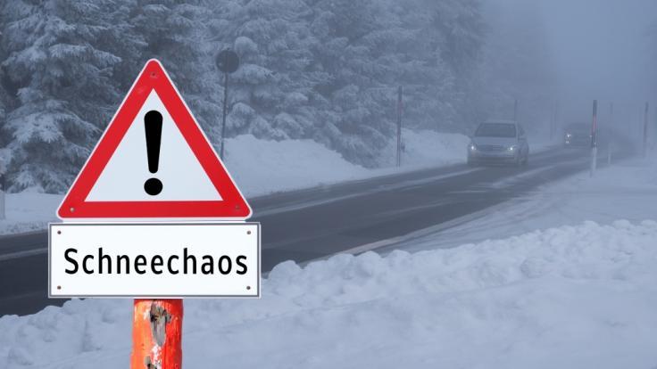 Die aktuellen Wetter-Aussichten bringen Schneechaos und Überschwemmungen. (Foto)