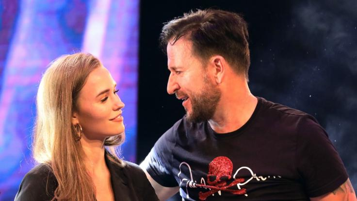 Michael Wendler mit seiner Freundin Laura Müller (Foto)