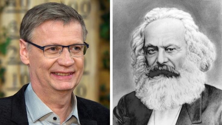 Historisch gesehen besteht eine interessante Verindung zwischen TV-Moderator Günther Jauch und Karl Marx.