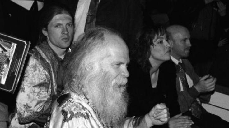 Vater Dan Kelly (vorn) und Sohn Joey (hinten links).