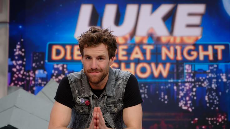 """Luke Mockridge löst das """"Fernsehgarten""""-Debakel in seiner """"Greatnightshow"""" auf. (Foto)"""