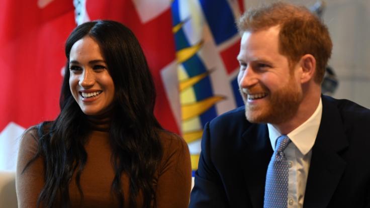 Meghan Markle und Prinz Harry haben gut lachen: Die finanzielle Zukunft des Paares sieht nach dem Megxit rosig aus. (Foto)
