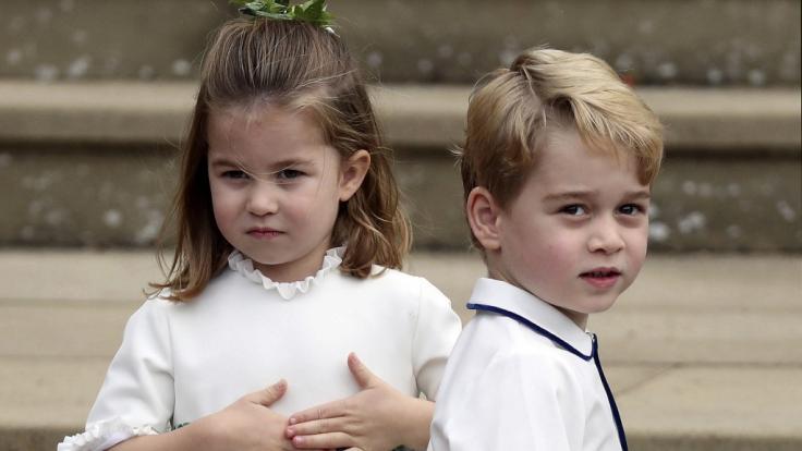 Prinz George, hier mit seiner zwei Jahre jüngeren Schwester Prinzessin Charlotte, wird am 22. Juli 2020 sieben Jahre jung.