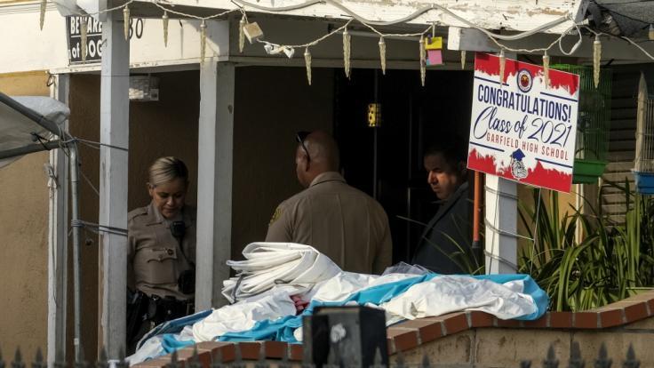 Drei Kleinkinder sind nach Polizeiangaben tot in einem Haus im Raum Los Angeles aufgefunden worden. (Foto)