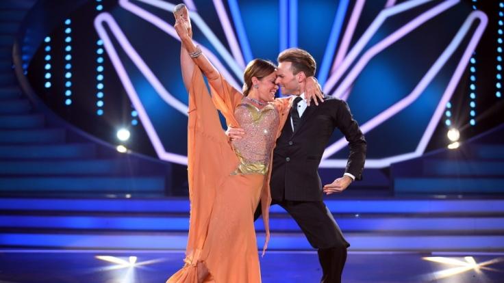 Sonja Kirchberger und Vadim Garbuzov haben ausgetanzt. (Foto)