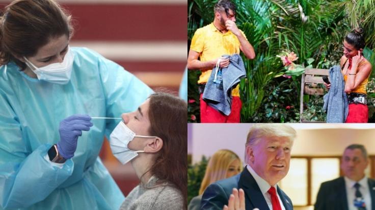 Die News des Tages am 23. Januar 2021 zum Coronavirus, RTL-Dschungelshow und Donald Trumps Amtsenthebung. (Foto)
