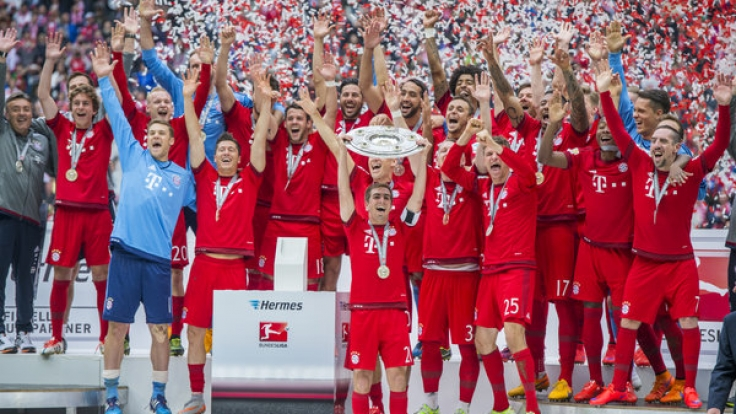 Die Bundesliga geht in ihre 53. Spielzeit.