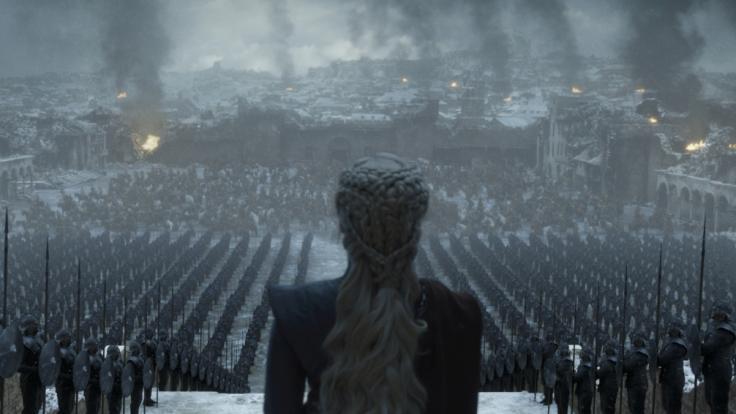 Wird Daenerys Targaryen überhaupt auf dem Eisernen Thron Platz nehmen? (Foto)