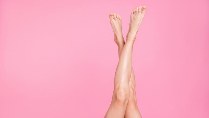 Mit 135 Zentimetern hat Maci Currin die längsten Beine der Welt. (Foto)