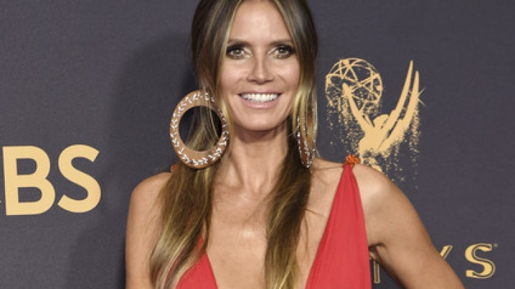 Heidi Klum stahl bei der diesjährigen Emmy-Verleihung mit ihrem sexy roten Kleid allen die Show.