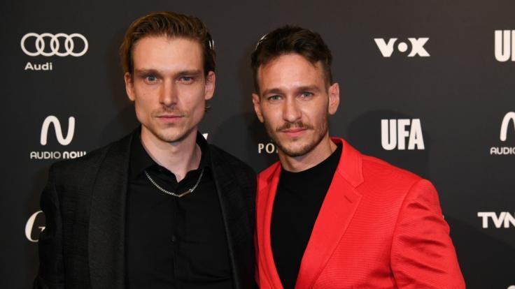 """Daniel Sträßer mit """"Tatort""""-Kollege Vladimir Burlakov bei der Eröffnungsparty zur Berlinale 2020. (Foto)"""