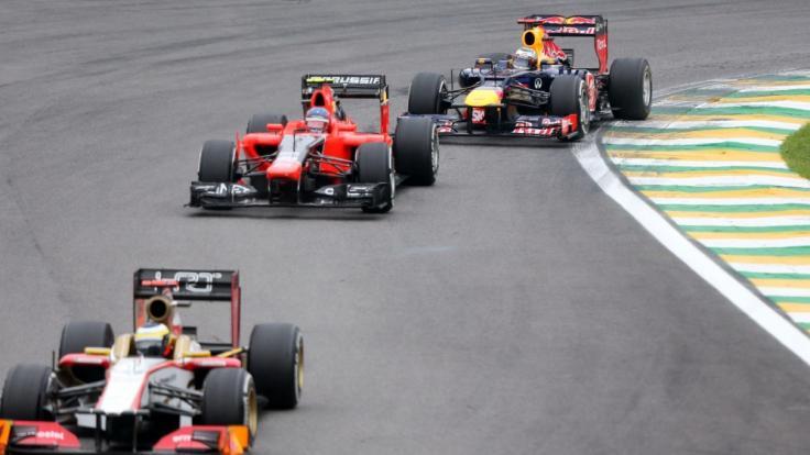 Am Wochenende kämpfen die Formel 1-Piloten beim Großen Preis von Belgien um den Sieg.