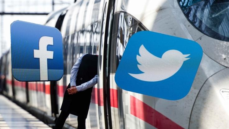 Facebook- und Twitter-User wettern gegen den Streik bei der Deutschen Bahn.