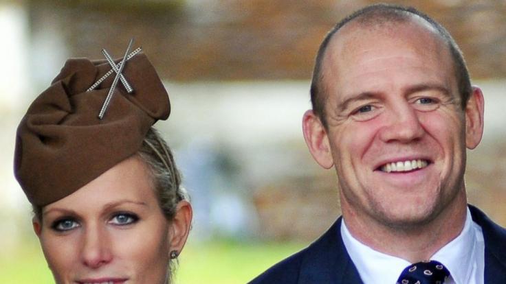 Zara Philipps Ehemann Mike Tindall hat wohl zu viel über die Royals ausgeplaudert. (Foto)