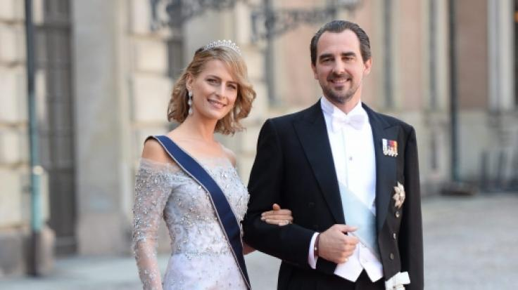 Bei Prinz Nikolaos von Griechenland und seiner Ehefrau Prinzessin Tatiana lässt der Nachwuchs noch auf sich warten. (Foto)