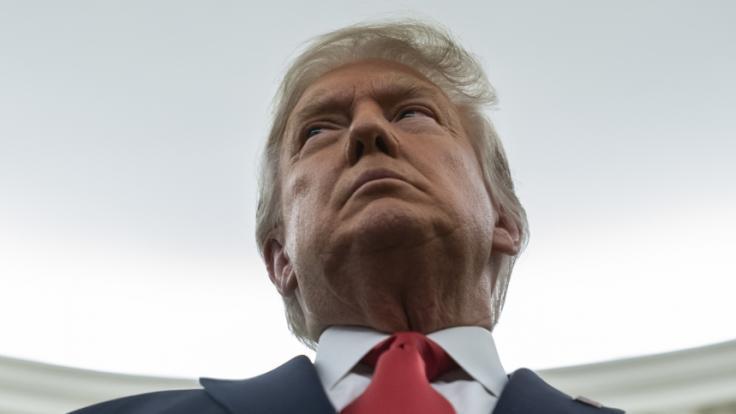 Auch in dieser Woche sorgte Donald Trump wieder für einige Schocker. (Foto)