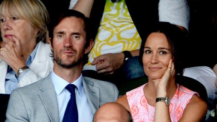 Seit Mai 2017 verheiratet: Pippa Middleton und James Matthews. (Foto)