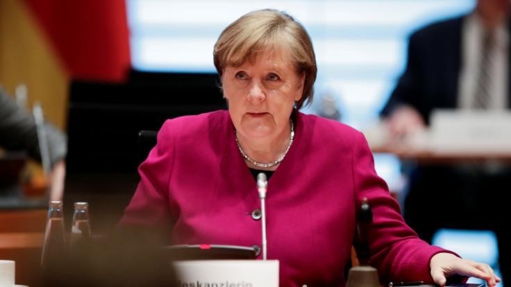 Um die Inzidenzrechnung von Angela Merkel gibt es Verwirrung. (Foto)