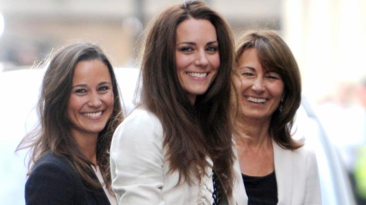 Pippa Middleton (links) durfte bei der Hochzeit ihrer Schwester Kate Middleton mit Prinz William Brautjungfer sein - doch bei Pippas Hochzeit durfte Herzogin Kate das nicht.