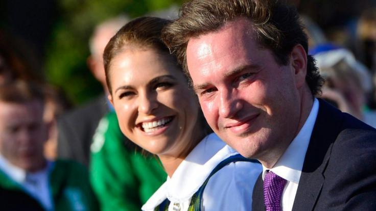 Prinzessin Madeleine und Ehemann Chris O'Neill (Foto)