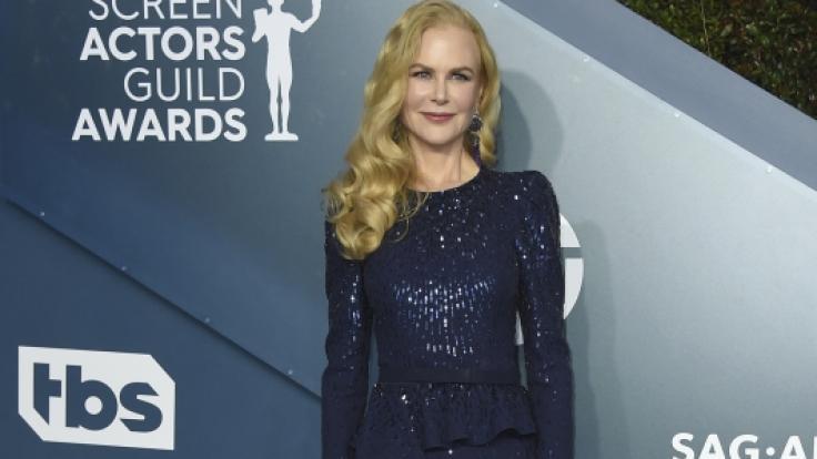 Schauspiellegende Nicole Kidman sorgte mit ihrem Outfit bei den SAG-Awards für gemischte Gefühle.