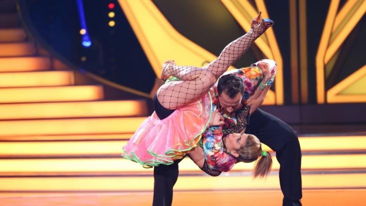 Panagiota Petridou und Ihr Profitänzer Sergiu Luca sind nach Show 3 von