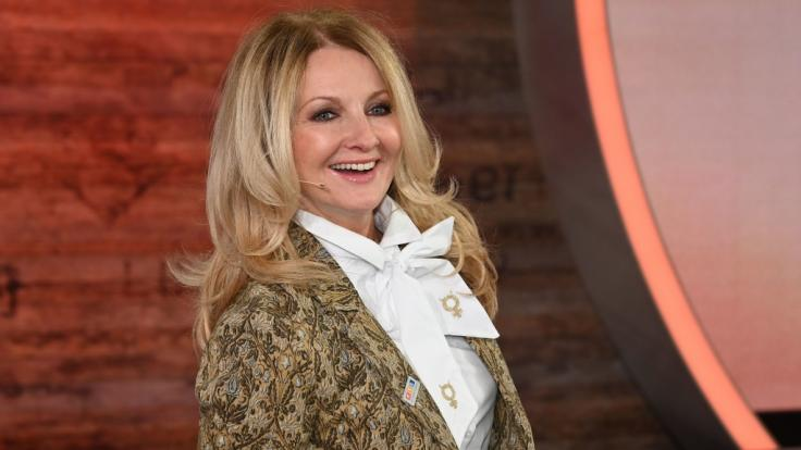 TV-Moderatorin Frauke Ludowig hat kein Problem damit, sich ihren Fans völlig unverhüllt zu präsentieren. (Foto)