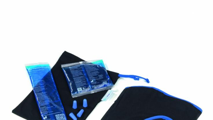 Die Lieferumfang der mysleepmask im Überblick. (Foto)