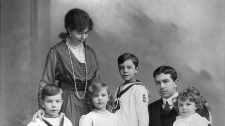 Kronprinzessin Margaret und ihre Familie