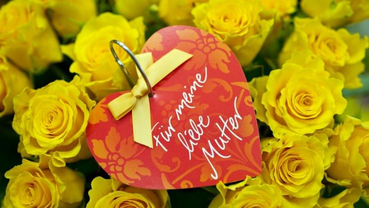 Viele verschenken zum Muttertag Blumen. Wir haben eine Last-Minute-Ideen für Sie zusammengetragen. (Foto)