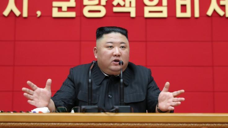 Kim Jong-un verbannte Medikamente aus China mit sofortiger Wirkung aus Nordkorea. Das gilt auch für den Corona-Impfstoff. (Foto)