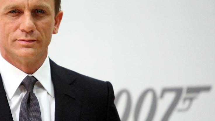 James Bond, der gefährliche Leinwandheld.