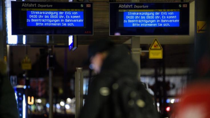 Im Tarifkonflikt bei der Deutschen Bahn wird es eng.